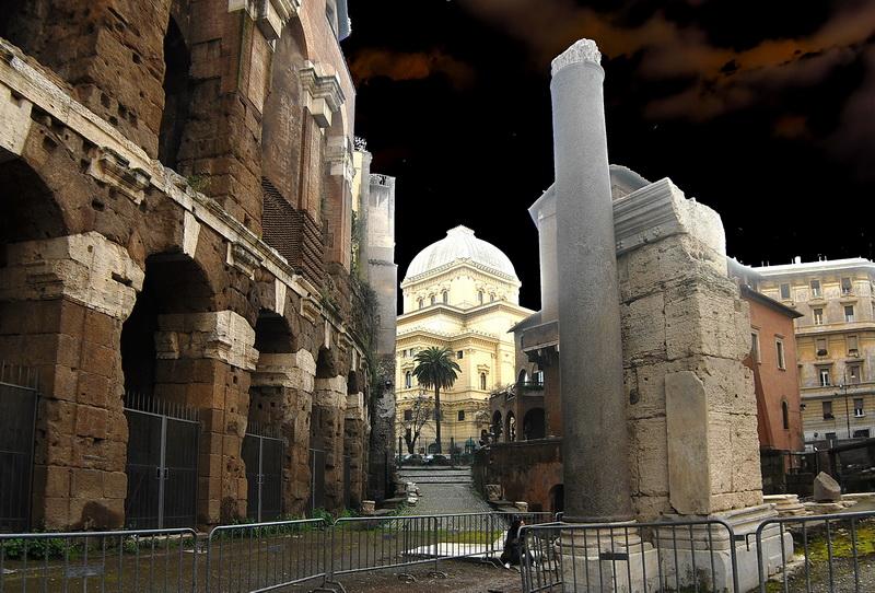 Рим. Rome. 220