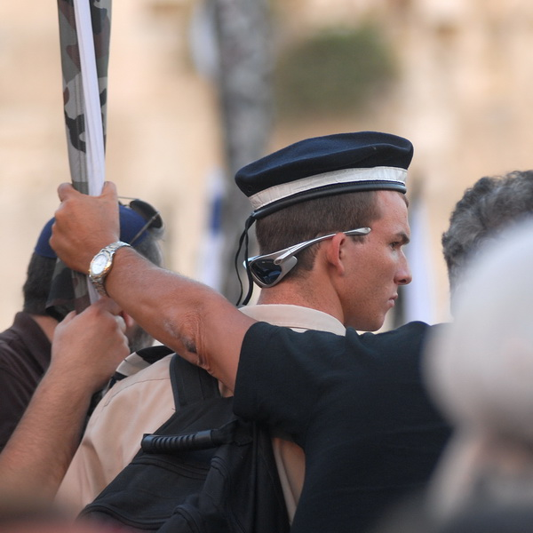 Иерусалим. Стена Плача. Присяга. 7