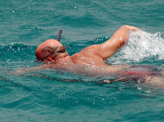 vodoplavayuschij turist