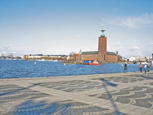 Стокгольм. Набережная.Stockholm.Quay.