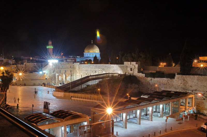 Иерусалим ночью. Night Jerusalem.