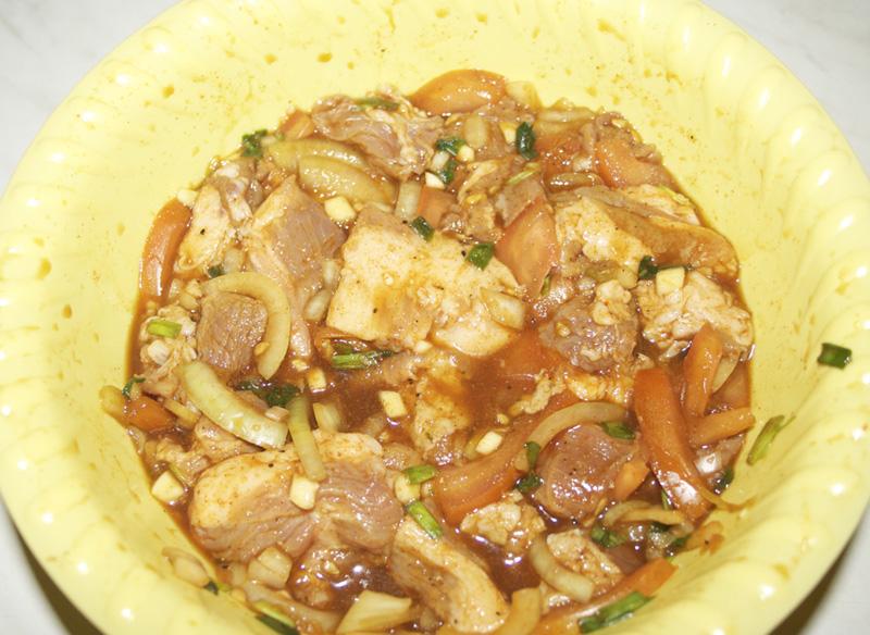 Свинина в соевом соусе. (c)Arachno. 9
