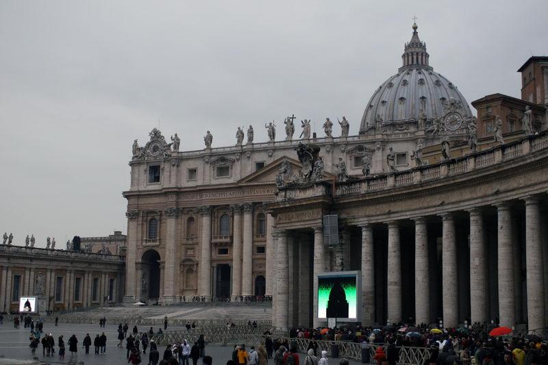 Площадь Ватикана