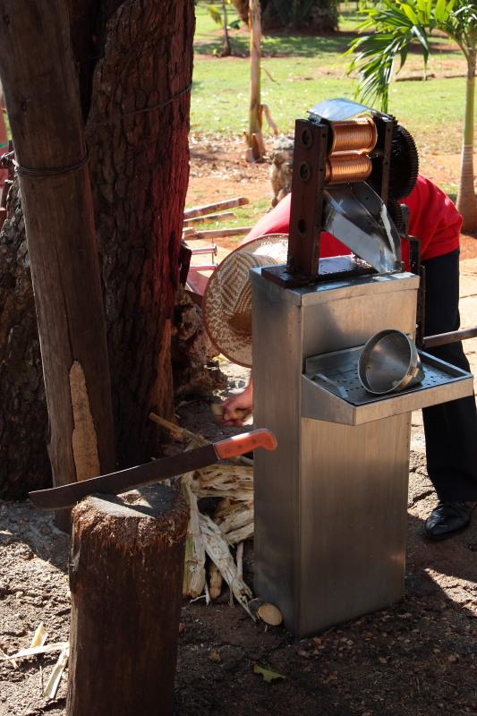 Переработка сахарного тростника