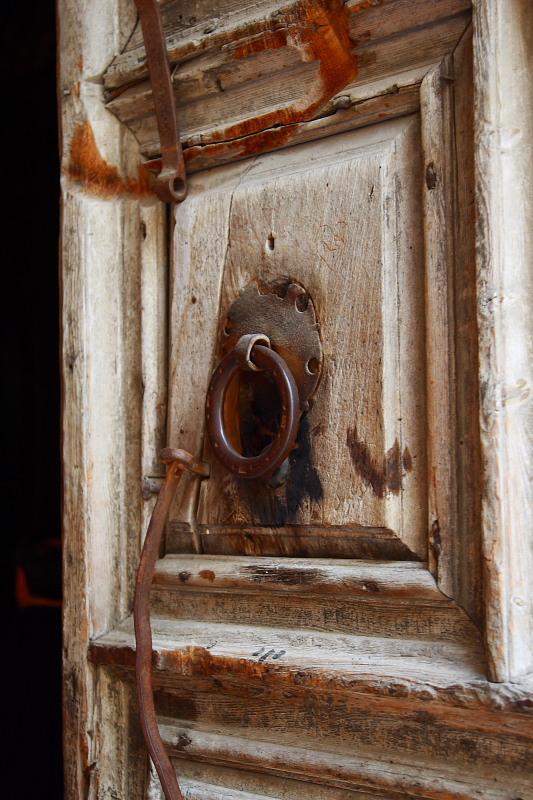 Дверь Храма Гроба <br />Господня