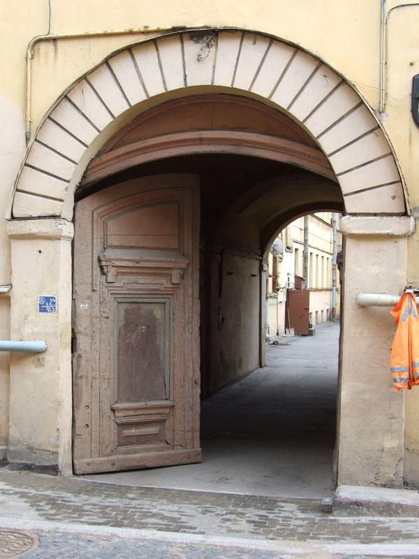 Ворота на Васильевском