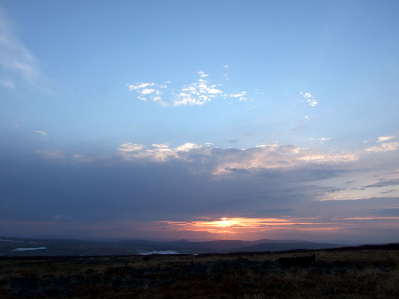 Закат над Кваркушем