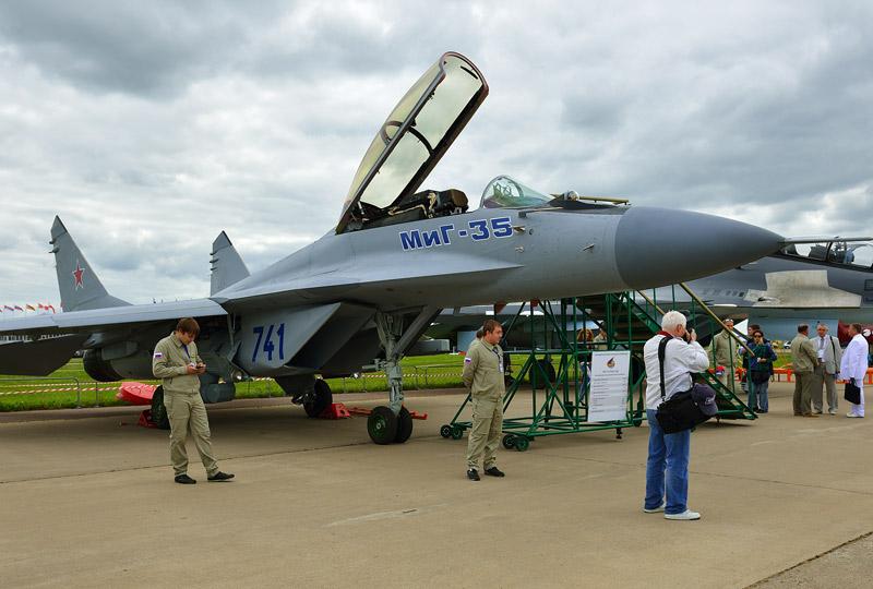 МиГ-35. МАКС-2013. Авиашоу 23.