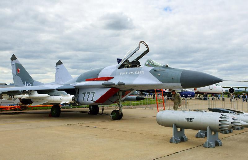 МиГ-29. МАКС-2013. Авиашоу 24.