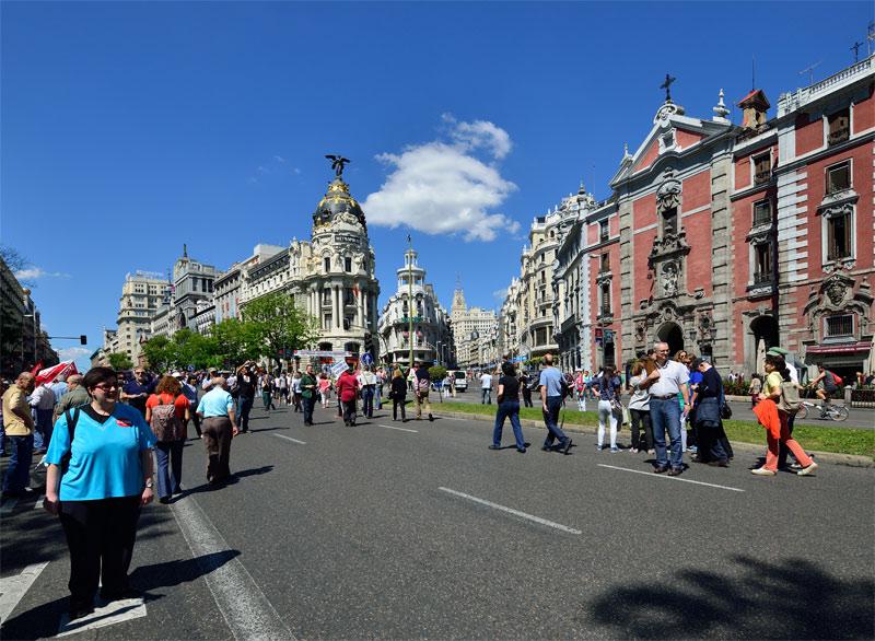 Мадрид. 1 мая 2014. Madrid. 15
