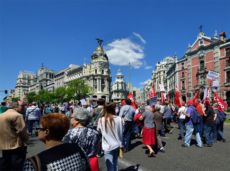 Мадрид. 1 мая 2014. Madrid. 19