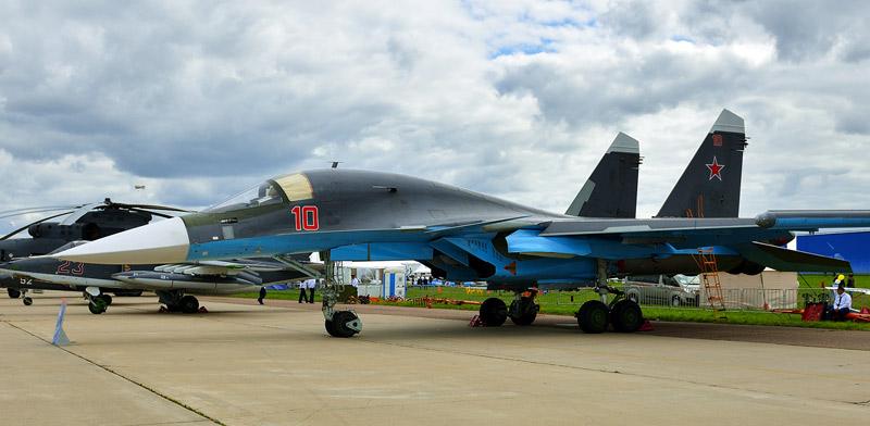 Су-34. МАКС-2013. Авиашоу 18.