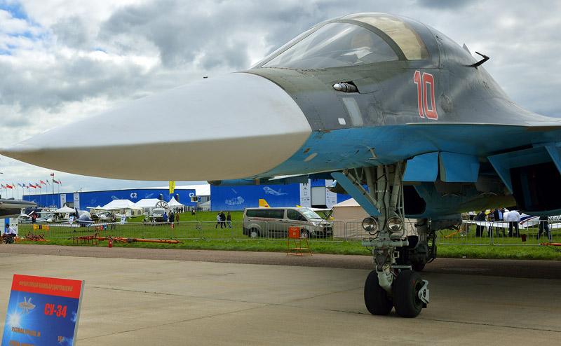 Су-34. Ракурс. МАКС-2013. Авиашоу 17.