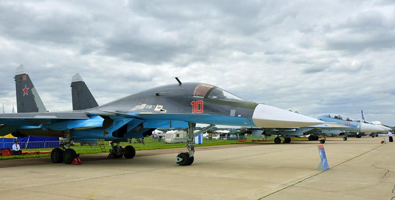 Су-34. МАКС-2013. Авиашоу 20.