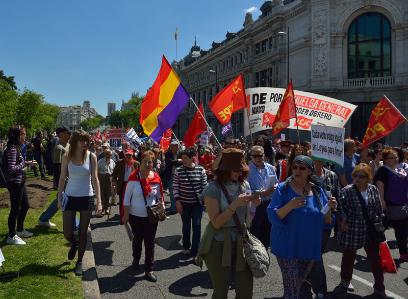 Мадрид. 1 мая 2014. Madrid. 61