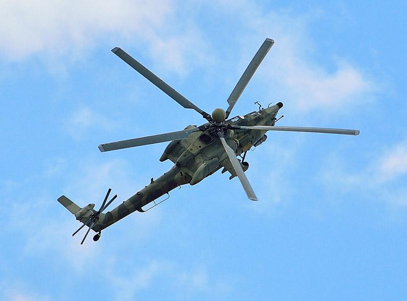 Ми-28Н. МАКС-2013. Авиашоу 93.