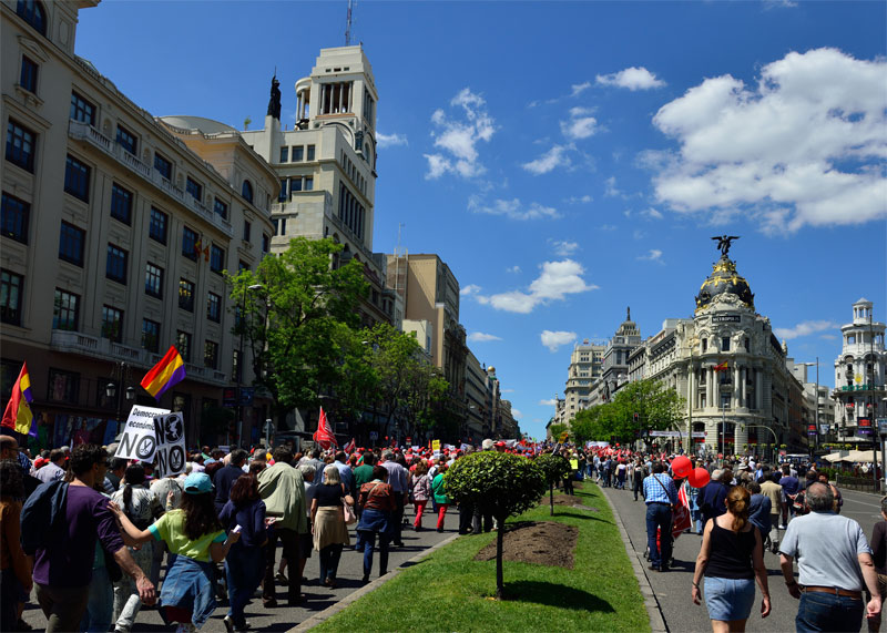 Мадрид. 1 мая 2014. Madrid. 67