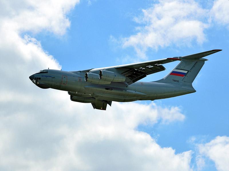 Ил-76. МАКС-2013. Авиашоу 83.