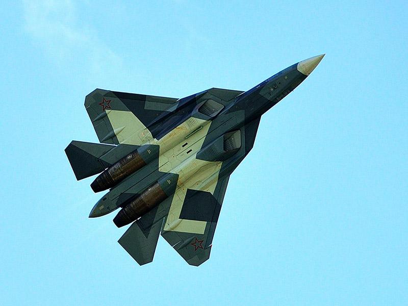 Т-50 ПАК ФА. МАКС-2013. Авиашоу 100.