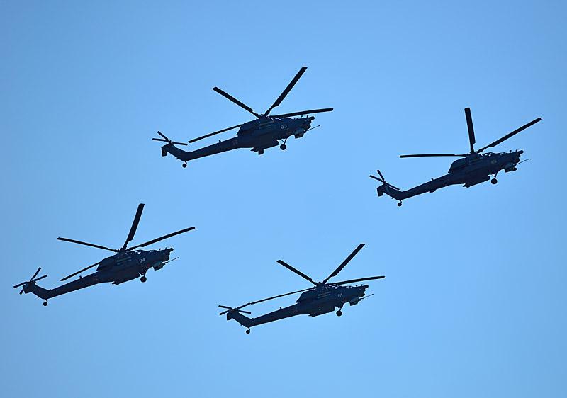 Беркуты на Ми-28Н. МАКС-2013. Авиашоу 91.