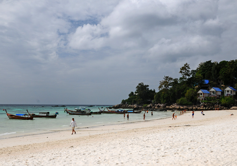 Ко Липе. Пляж Паттайя. Ko Lipe. Pattaya Beach. 10