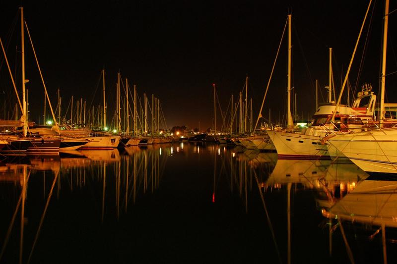 Sleeping boats