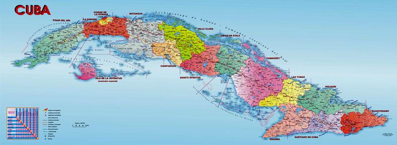 Карты Кубы. Cuba Map.