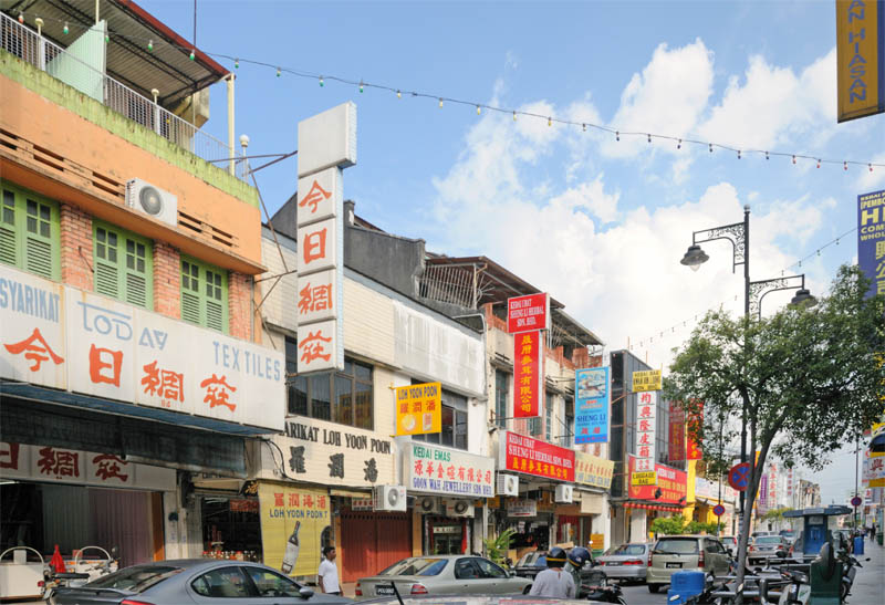 Пенанг.Чайна-Таун.Penang.China-Town.