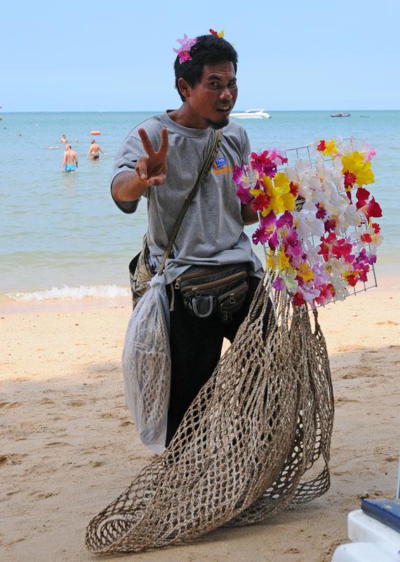 Паттайя. Кози Бич. Продавцы на пляже. Pattaya. 36