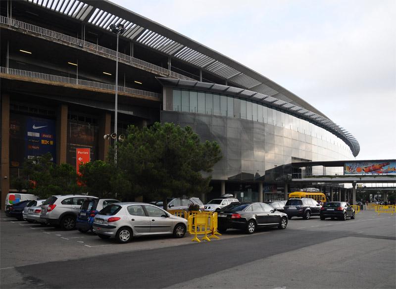Барселона. Стадион Камп Ноу. 2