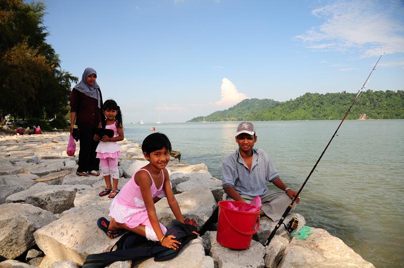 Пенанг. Семейная рыбалка. Penang.