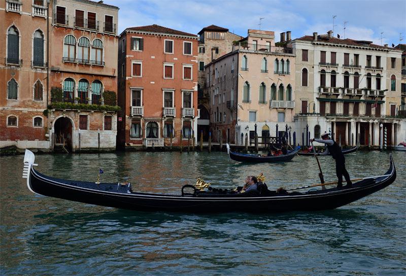 Венеция. Гондолы и гондольеры. Venice. 73