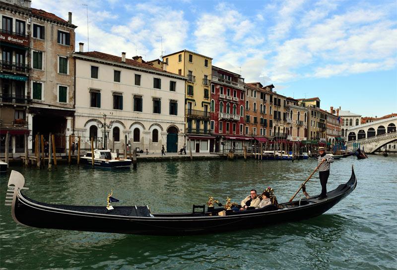 Венеция. Гондолы и гондольеры. Venice. 77