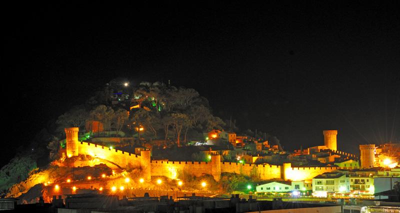 Тосса де Мар. Крепость.