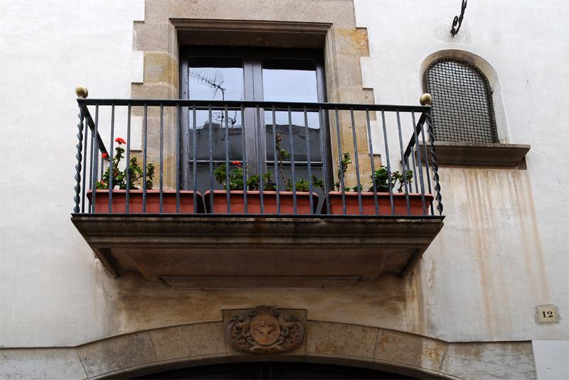 Тосса де Мар. Балкон.