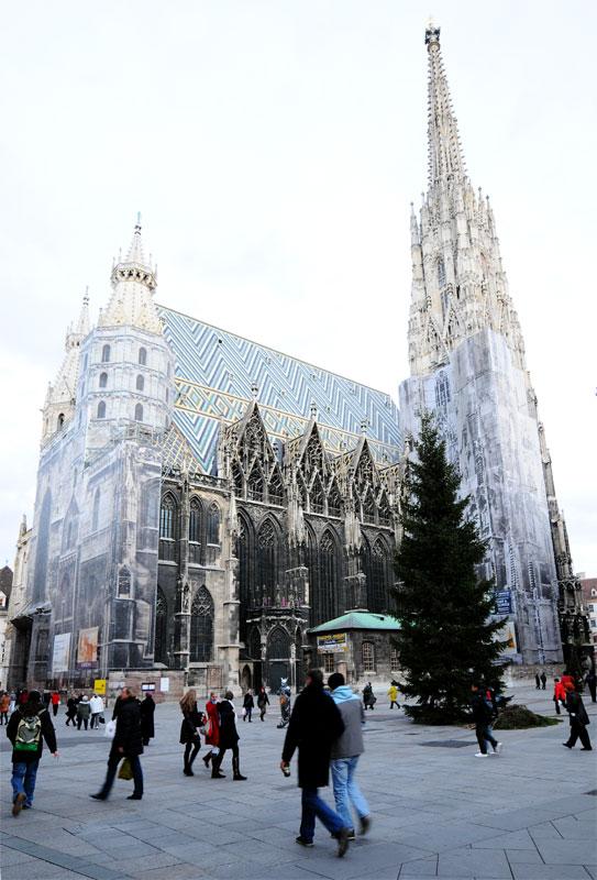 Вена. Собор Св. Стефана. Vienna. Stefansdom. 12