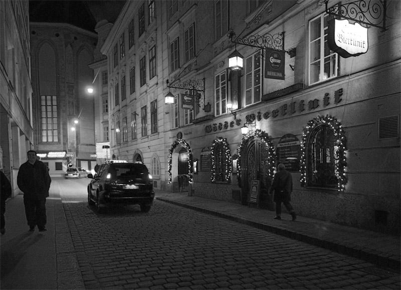 Вена. Пивной ресторан Бирклиник. Gosser Bierklinik. 4