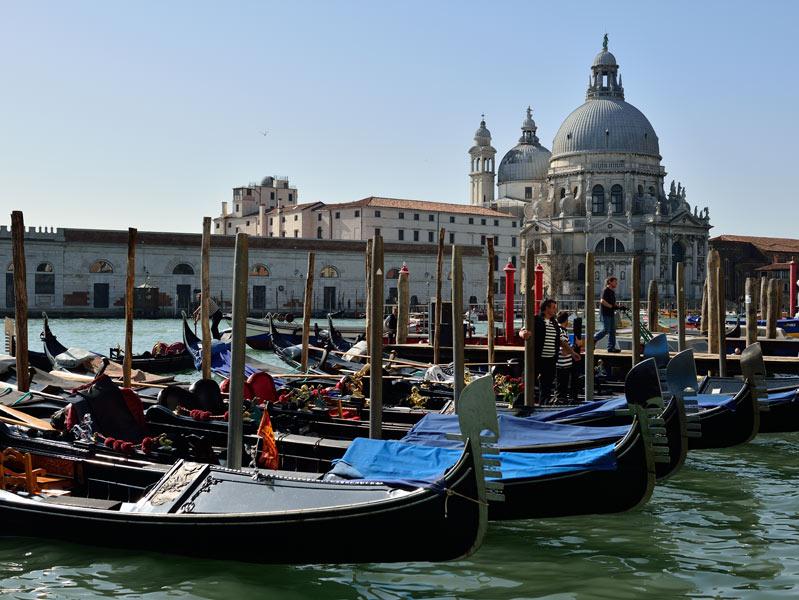 Венеция. Гондолы и гондольеры. Venice. 80