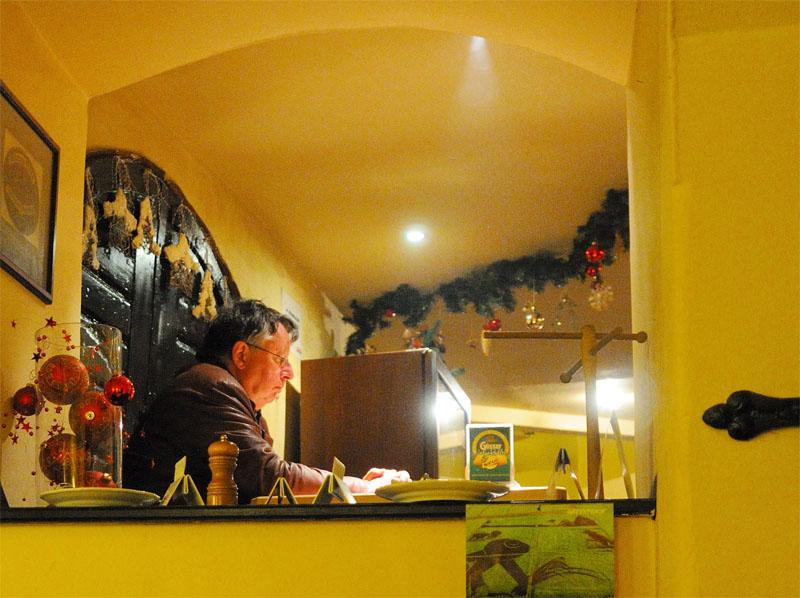 Вена. Пивной ресторан Бирклиник. Gosser Bierklinik. Vienna. 15