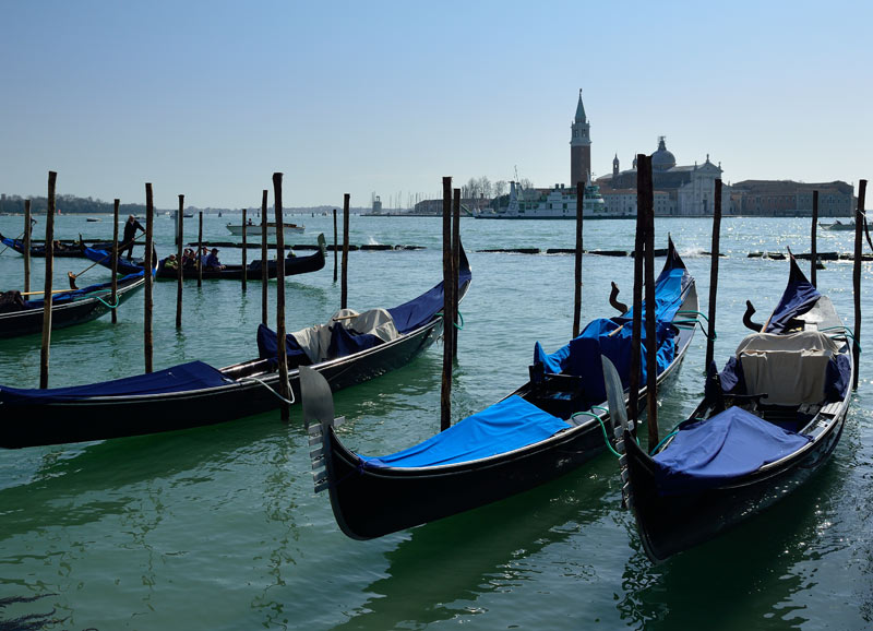 Венеция. Гондолы и гондольеры. Venice. 82