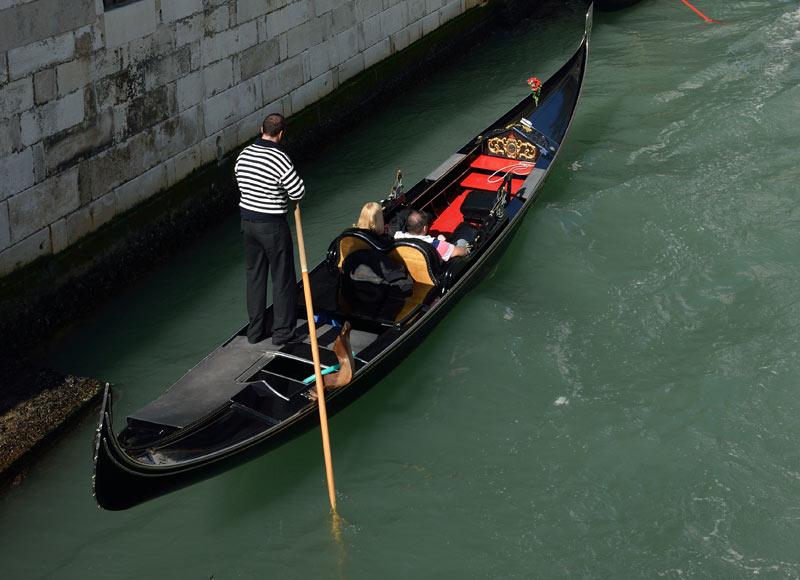 Венеция. Гондолы и гондольеры. Venice. 84