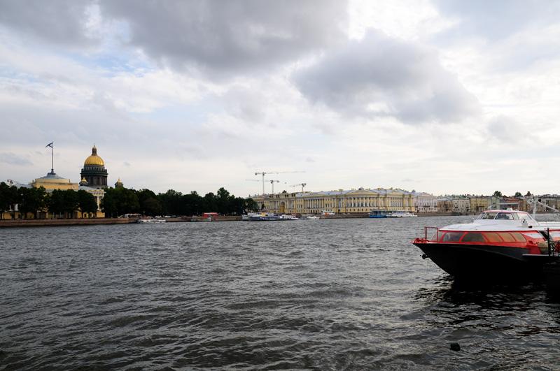Санкт-Петербург. Исаакий, Сенат, Синод, Англ. наб.
