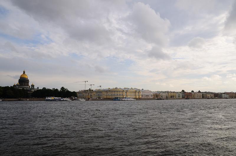 Санкт-Петербург. Исаакиевский собор, Английская набережная.