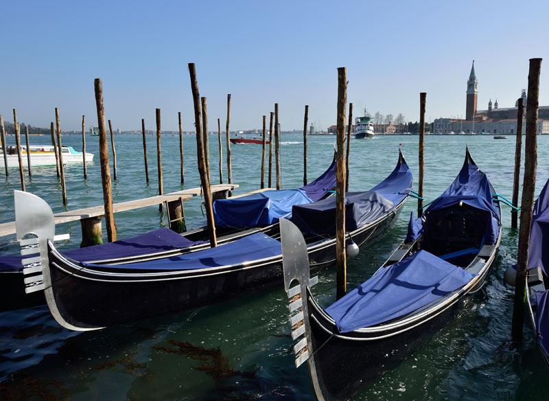 Венеция. Гондолы и гондольеры. Venice. 86