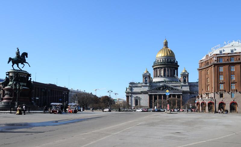 Санкт-Петербург. Исаакиевская площадь. 7.