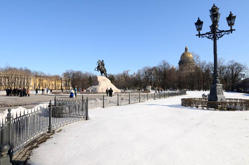 Санкт-Петербург. Пётр I и Исаакий. 20.