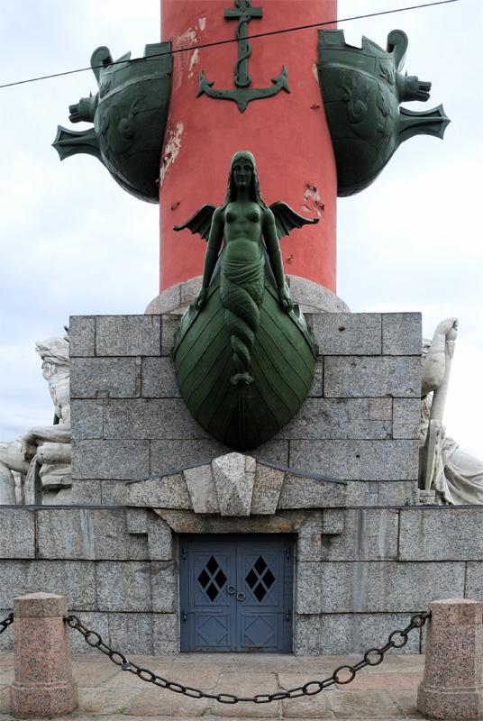 Санкт-Петербург. Ростральная колонна.