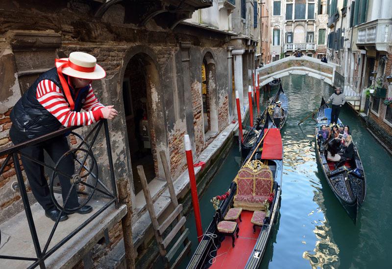 Венеция. Гондолы и гондольеры. Venice. 72