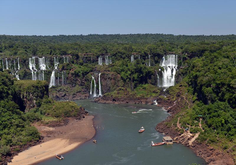 Водопады Игуасу. Бразилия. Brasil. Iguacu Falls. 10