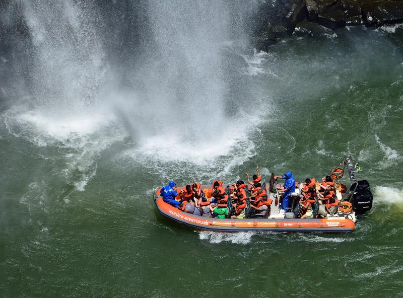 Водопады Игуасу. Тур на лодке. Iguacu Falls. Boat Trip 5